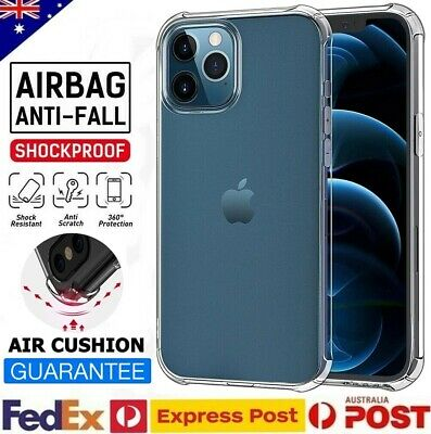 AU6.07 • Buy Clear Shockproof Bumper Back Case Cover For IPhone 12 11 Pro X XS MAX XR 7 8 SE