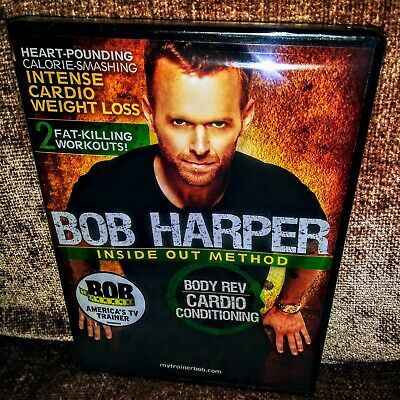 Bob Harper: Inside Out BODY REV CARDIO CONDITIONING (DVD) Fat Killing Workouts • 9.08£