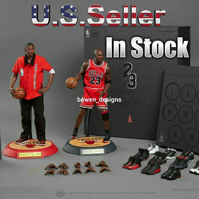 $849.89 • Buy 1/6 Enterbay NBA Final Edition MICHAEL JORDAN Chicago Bulls Away 2 12 Figure Set