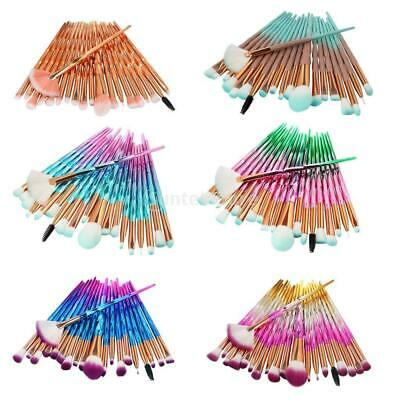 AU13.39 • Buy 20x Unicorn Eye Brush Set Blending Kit Makeup Make Up Lip Concealer Brushes