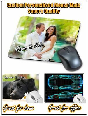 Superb Quality Custom Personalised Computer Mouse Mat / Mats, Non Slip   ⭐⭐⭐⭐ • 3.50£