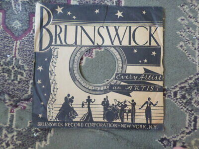 $6.99 • Buy  Brunswick 78-rpm-  No Record-sleeve-only    Vg  Condition