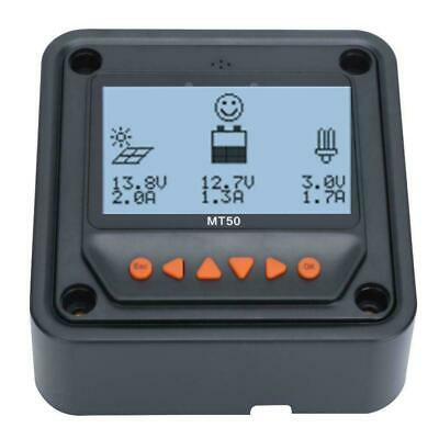 MT50 Remote Meter, LCD Display MT-50 Tracer MPPT For Solar Charge Controller • 27.99£