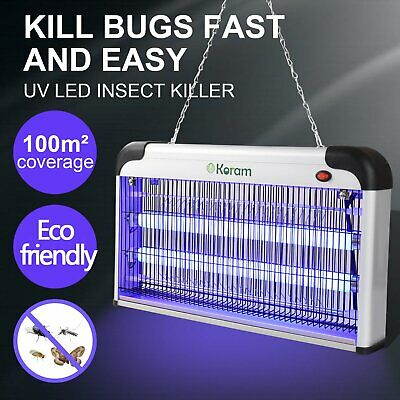 20W/30W/40W Electric Fly Insect Bug Pest Mosquito Killer Zapper Catcher LED Lamp • 19.79£