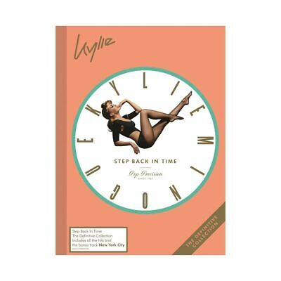 Kylie Minogue - Step Back In Time The Definitive Collection [New & Sealed] 2CD • 5.99£
