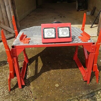 £100 • Buy Tractor Roll Cage / Cab / Classic Tractor/ Work Lights