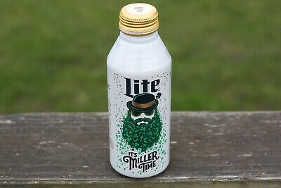 $3.25 • Buy LIMITED EDITION MILLER LITE ST. PATRICKS DAY ALUMINUM BEER BOTTLE CAN 2020 Paddy