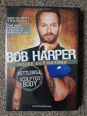 DVD Bob Harper - Inside Out Method - Kettlebell Sculpted Body • 15.99£