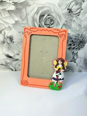 Fairy Photo Picture Frame Fairy Home Decor Pixie Fantasy Custom Hand Painted • 18.99£