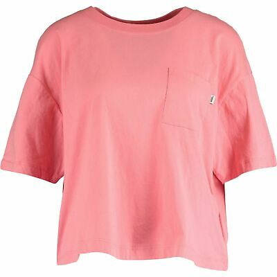 £12.99 • Buy VANS Women's Brush Off Cropped Top T-Shirt, Strawberry Pink, Size M