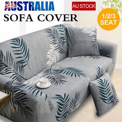 AU26.56 • Buy Stretch Sofa Cover 1 2 3 Seater Couch Lounge Recliner Sofa Slipcover Protector