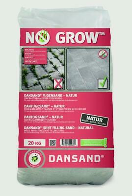 £22.97 • Buy Dansand No Grow Weed Paving Sand 20kg Block Weed Fungus Killer For Drives Paths