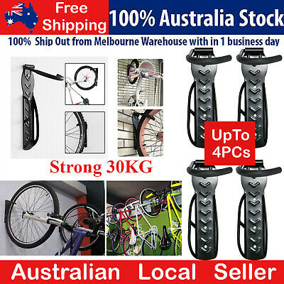 AU29.99 • Buy Up To 4PCS  Metal Bicycle Bike Wall Rack Mount Garage Stand Holder  Hanger Hook