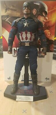 $420 • Buy Hot Toys Captain America Civil War MMS350, Used, Avengers 1/6 1:6 Scale Figure