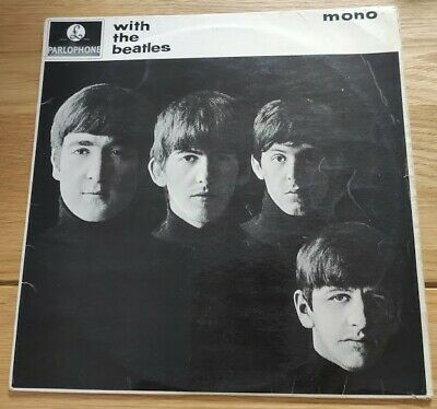 £27.95 • Buy WITH THE BEATLES MONO PMC 1206 Parlophone 1st Pressing XEX 447 1963