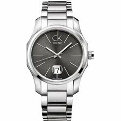 £106.83 • Buy Calvin Klein Black Dial Stainless Steel Quartz Mens Watch K7741161