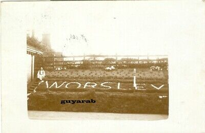£20 • Buy Worsley Railway Station Platform Sign? Early Postcard, P/used Eccles, Manchester