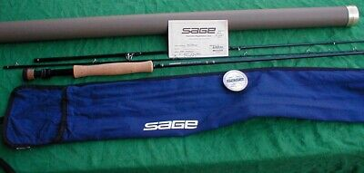 $450 • Buy Sage Fly Fishing Rod 9 Ft 8wt 3 Piece Near Mint In Case With Warranty Card