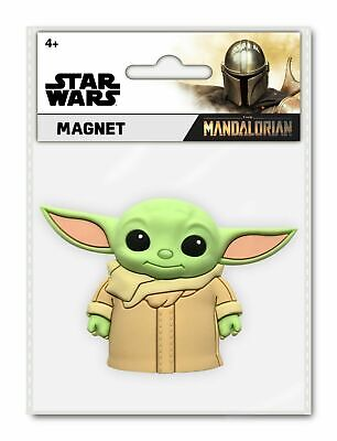 $8.99 • Buy Monogram Baby Yoda THE MANDALORIAN CHILD 3D Magnet IN HAND-QUICK SHIP Great Gift
