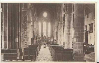 £2.20 • Buy Cumbria Postcard - St Mary's Church - Kirkby Lonsdale - Ref 19573A