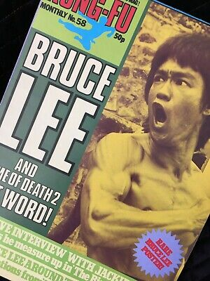 £11.99 • Buy Bruce Lee Kung Fu Monthly Poster Magazine Number 58 In Mint Condition