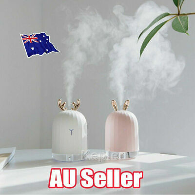 AU18.45 • Buy 7 LED USB Ultrasonic Air Humidifier Essential Oil Aroma Diffuser Aromatherapy