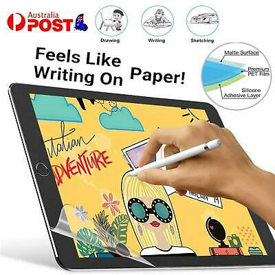 AU10.57 • Buy Screen Protector Film For IPad Pro 12.9 2020 & 2018 Write Draw Like On Paper