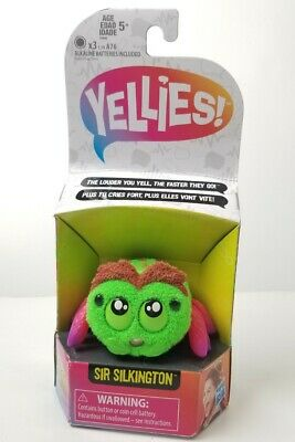 $11.65 • Buy Yellies! Sir Silkington Voice Activated Spider Pet New 🕷Hasbro