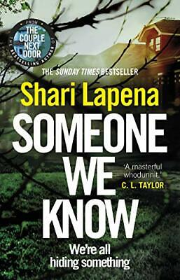 £3.10 • Buy Someone We Know By Shari Lapena. 9780552174886
