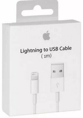 AU188.47 • Buy 100% GENUINE ORIGINAL OFFICIAL IPhone 6,7,8,X/XS,11 Lightning Charger USB Cable