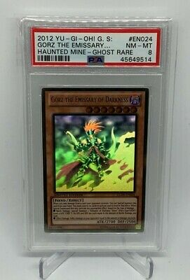 AU98.45 • Buy Gorz The Emissary Of Darkness GLD5-024 [Ghost Rare PSA NM-MT 8] Yu-Gi-Oh!
