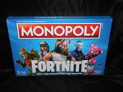 $12.99 • Buy Monopoly Fortnite Edition Board Game NEW Sealed Battle Opponents Claim Locations