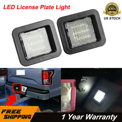 $11.99 • Buy 2X LED License Plate Light Bulbs Assembly For 2015-2018 Ford F150 Super Bright