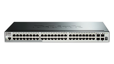 AU1299.60 • Buy D-LINK DGS-1210-52MP 52 Ports Web Smart PoE Switch With 48 UTP And 4 SFP Ports
