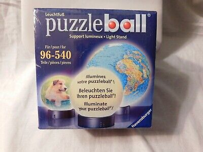$16.24 • Buy Ravensburger Puzzle Ball Light Stand Sealed In Box