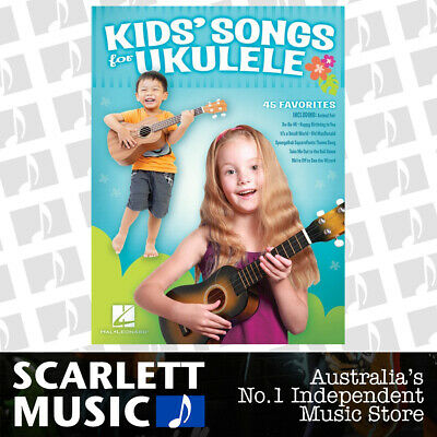 AU32.64 • Buy Kids Songs For Ukulele (Softcover Book)