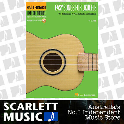 AU35.95 • Buy HL Ukulele Easy Songs Book/Online Audio (Softcover Book/Online Audio)