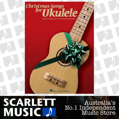 AU26.95 • Buy Christmas Songs For Ukulele (Softcover Book)