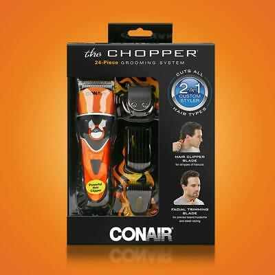 $ CDN59.17 • Buy Conair The Chopper Hair Clipper Trimmer 24 Piece Grooming System 2 In 1 Corded