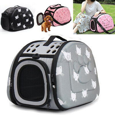 £16.96 • Buy Large Pet Dog Cat Portable Travel Carry Carrier Tote Cage Bag Crates Box
