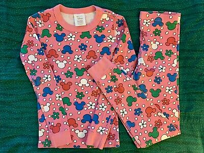 $24.50 • Buy Hanna Andersson Pajamas, Disney Mickey Mouse, Pink, Size 140 /US 10, Gently Used