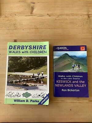 Walks With Children - Keswick In Lake District & Derbyshire  • 4£