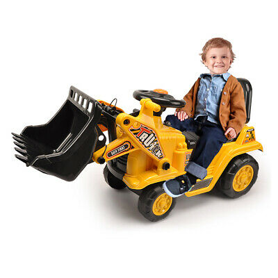 AU59.95 • Buy Lenoxx Ride On Digger Kids/Children Outdoor Tractor Push/Kick Toy W/Levers 3y+