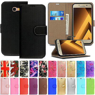 Case For Samsung Galaxy A9 A8 A7 A6 Plus A5 A3 2017 Leather Flip Wallet Cover • 1.99£