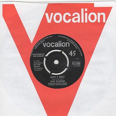 Leon Haywood Skate A While Vocalion VL9288 Soul Northern Motown • 15£