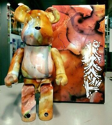 $336.99 • Buy Medicom Be@rbrick 2015 Pushead 400% Marble Pattern Brian Schroeder Bearbrick 1pc