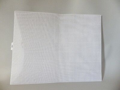 PLASTIC MESH CANVAS 7 COUNT FOR BAG BASES CROSS STITCH FABRIC CRAFTS 34 X 26.6cm • 7.95£