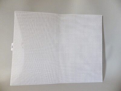 PLASTIC MESH CANVAS 7 COUNT FOR BAG BASES CROSS STITCH FABRIC CRAFTS 34 X 26.6cm • 2.45£