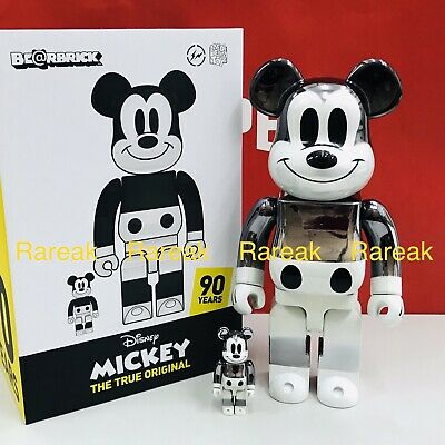 $1868.99 • Buy Medicom Be@rbrick Disney X Fragment Design Mickey Mouse 400% + 100% Bearbrick