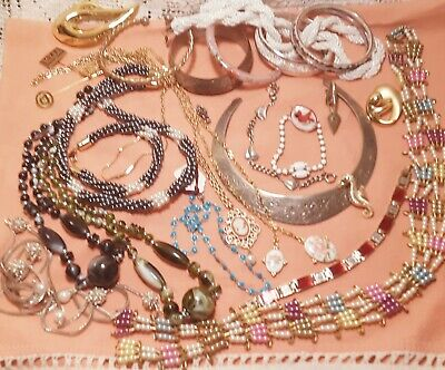 $ CDN17.71 • Buy Vintage Estate Jewelry Lot- Some Signed,nice Condition